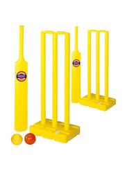 TA Sport Complete Cricket Set for Children, Yellow
