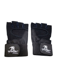 TA Sport Weight Lifting Gloves, Black