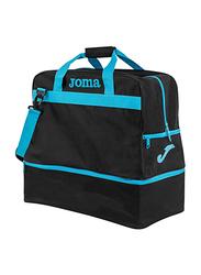Joma Nylon Shoulder Bag Unisex, Medium, Turquoise/Black