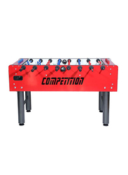 FAS Tournament Competition Football Table, 0cal0114, Red