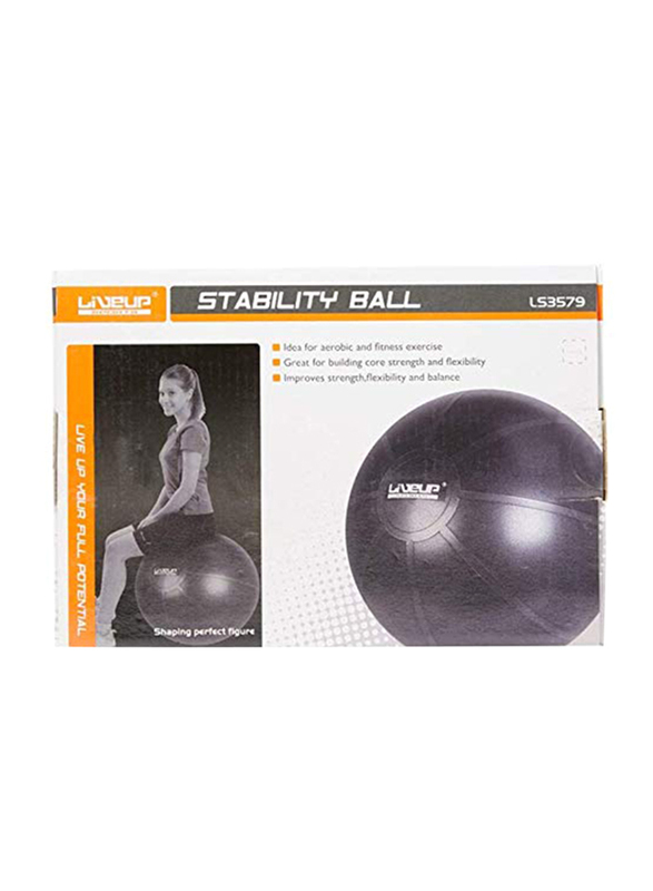 LiveUp Stability Ball without Pump, Multicolour