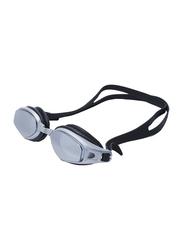 TA Sport 2100AF Anti-Fog Swimming Goggles, Black/Clear