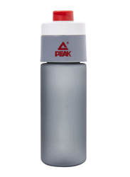 Peak Water Bottle, 450ml, Grey/Red