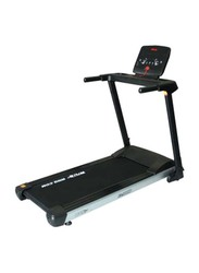 TA Sport Home Use Treadmill 1.5HP with Home Use Spin Bike, Black