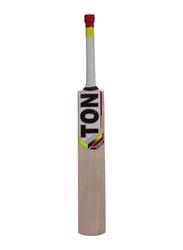 Sareen Sports Ton Maximus Kashmir Willow Cricket Bat, Size 6, Multicolour