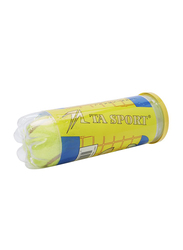 TA Sport Grade B Training Tennis Ball, 3 Piece, Green