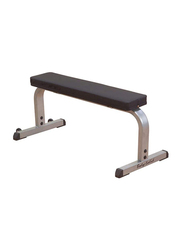 Body Solid GFB350 Flat Bench, Grey/Black