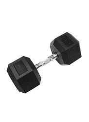 TA Sport Dumbbells Set, 54040899-101, 2 x 20KG, Black