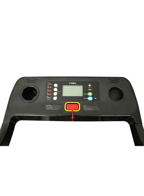 Impetus Motorized Electric Treadmill, VT-4000, Black