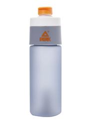 Peak Water Bottle, 450ml, Grey/Orange
