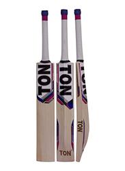 Sareen Sports Ton Super English Willow Short Hand Cricket Bat, Multicolour