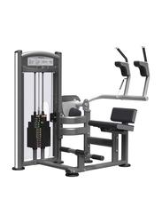 Impulse Abdominal Training Machine, Grey/Black