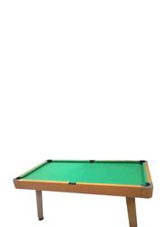 TA Sport 72-inch Pool Table, HBT161B07S1, Green