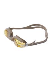 TA Sport Anti-Fog Swimming Goggles, 45060150, Brown/Yellow