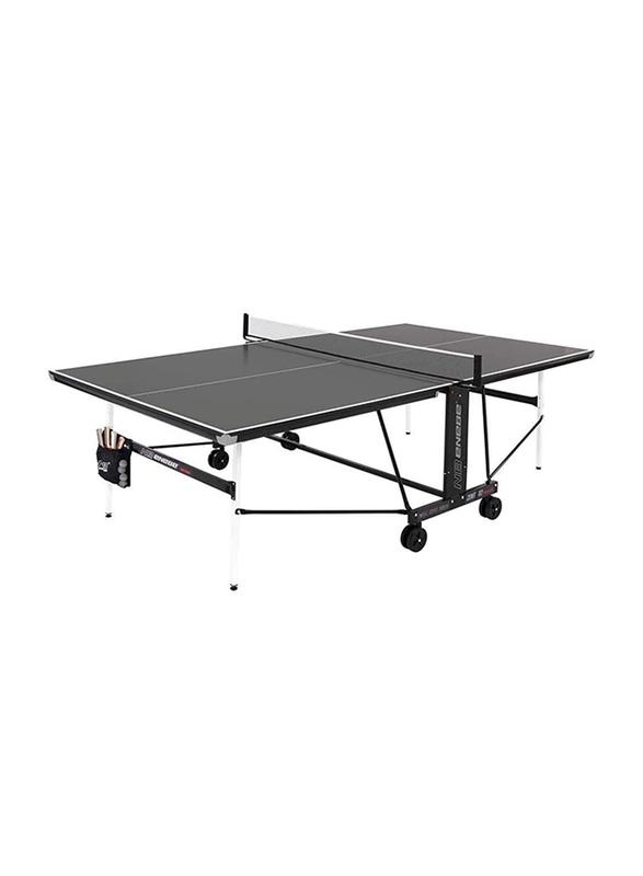 Enebe Mesa Match X2 Chrome Table Tennis Table, 707015, Black