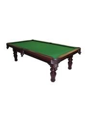 Georgia 9-Feet Billiard Table, Qx-102, Dark Red