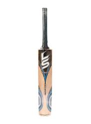LS Exclusive English Willow Cricket Bat, Multicolour