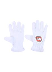 Sareen Sports Cricket Match Wicket Keeping Inner Gloves, White