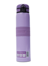 Uzspace Plastic Water Bottle, 4056, 480ml, Purple