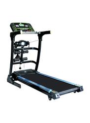 TA Sport Motorized Electric Treadmill with Massager, 168x145x84cm, Black