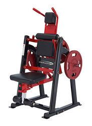 Steelflex Metal Core & Abdominal Trainers for Commercial Plac-Br, Black/Red