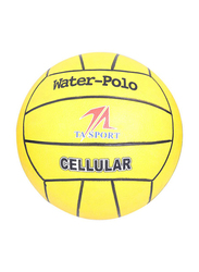 TA Sport Cellular Water Polo Volleyball, Size 5, Yellow