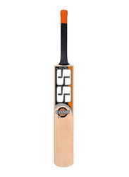 SS Sunridges Cricket Bat, Full Size, Orange/Grey