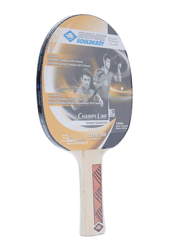 Donic Table Tennis Racket, Multicolour