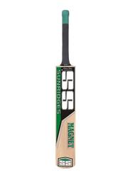 Sareen Sports Magnet Kashmir Willow Cricket Bat, Multicolour