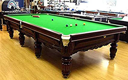 TA Sports XD18104 Russia Table Steel Board with Green Table Cloth, Green/Brown