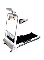 TA Sport 0.85 HP Motorized Treadmill, ZT533, Black/White
