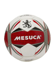 Joerex Mesuka Football, White/Red/Grey