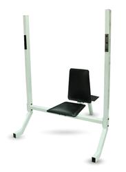 B14 13010026 Shoulder Press Bench, White/Black