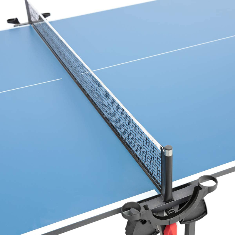 Donic Indoor Roller Fun Table Tennis Table, 230235, Blue
