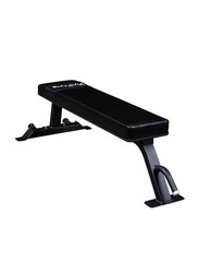 Body Solid Pro ClubSolid Flat Bench, Black