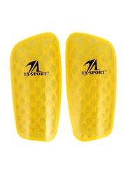 TA Sport Soccer Shin Guards, Yellow
