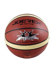 Joerex Be Active Invincible Basketball, Red/Beige/Black