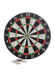 Joerex 17-Inch Flocking Dartboard, Jd6081, Multicolour