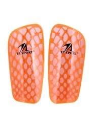TA Sport Soccer Shin Guard, Orange