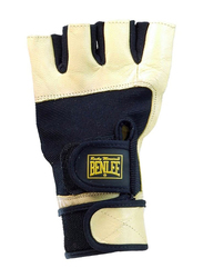Benlee Kelvin Weight Lifting Gloves, Beige/Black