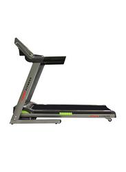 York Fitness 2.5 HP Treadmill, Black/Silver/Grey