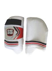 Sareen Sports High Tech Thigh Guards, White