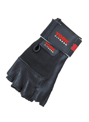 York Fitness Weight Lifting Gloves, Black