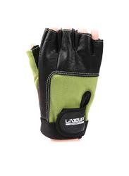 LiveUp Training Glove, Large, Black/Green