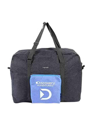 Discovery Adventures Foldable Storage Carry Bag Unisex, Grey/Blue
