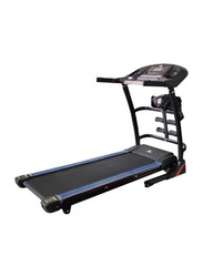 TA Sport 1HP- 2HP Motorized Treadmill, Black