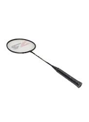 Joerex Adult Strung Badminton Racket, 2 Piece, Black