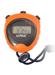 LiveUp LS3193 Stop Watch, Black/Orange