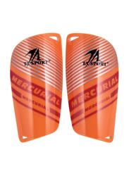 TA Sport Soccer Shin Guards, Orange