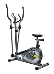 TA Sport 2 In 1 Elliptical Trainer Fit 110x149x55cm, Black